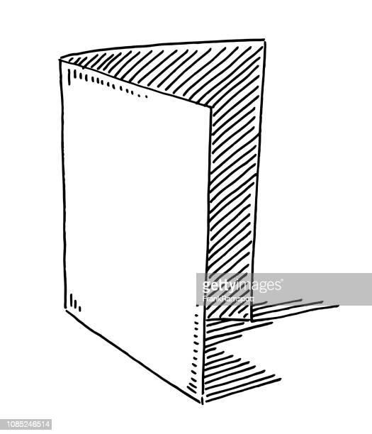Druckproduktion Ordner Symbol Zeichnung