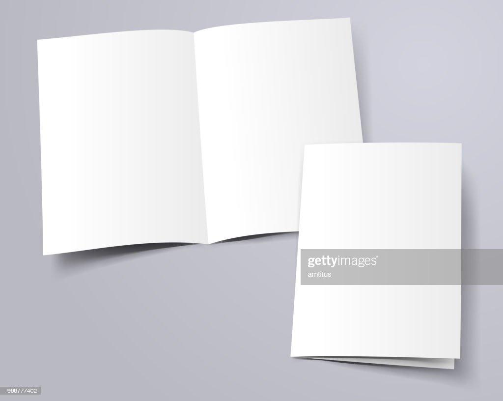 folder template : stock illustration