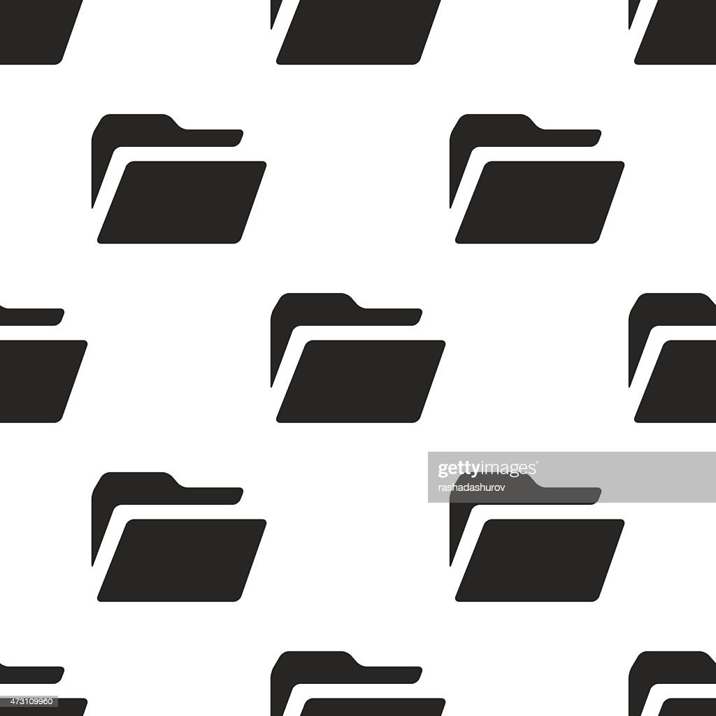 folder, vector seamless pattern