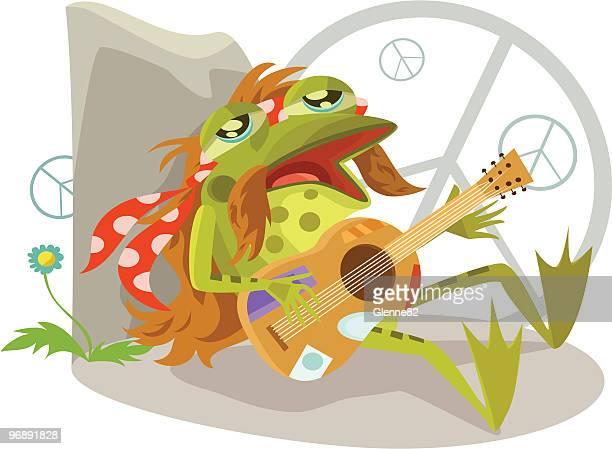 Folk Singer Frog