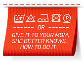 Follow washing instructions or give it to your mom