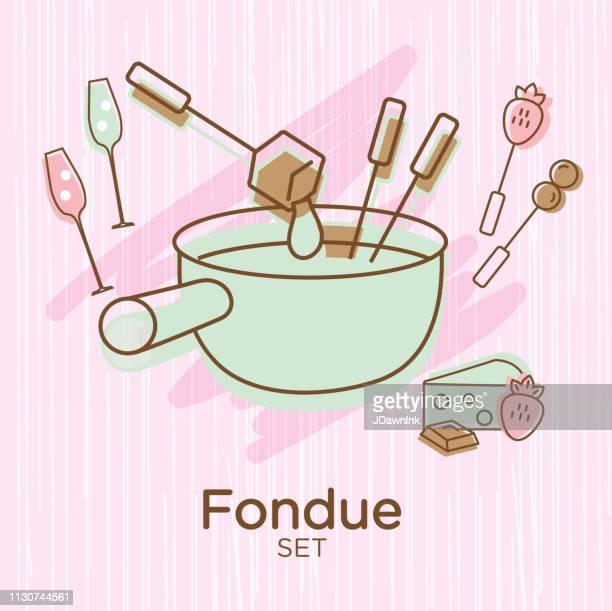 Worlds Best Chocolate Fondue Stock Vector Art And Graphics