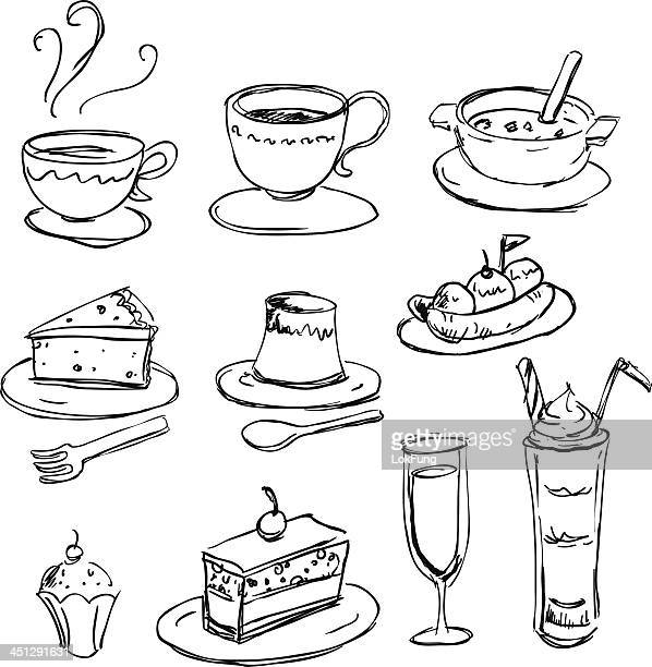 food and beverage - calcium stock illustrations, clip art, cartoons, & icons