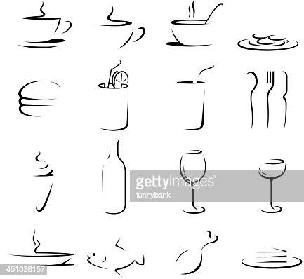 drink food symbols