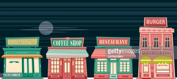 ilustrações, clipart, desenhos animados e ícones de comida e bebida - lorem ipsum