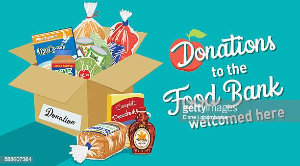 Compassion Clipart Free - Food Bank Cartoon - Free Transparent PNG Clipart  Images Download