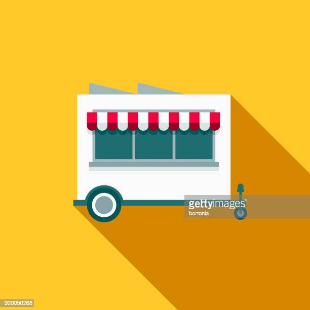 60 Top Food Kiosk Stock Illustrations, Clip art, Cartoons, & Icons