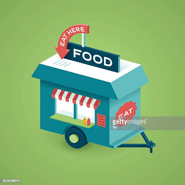 ilustraciones, imágenes clip art, dibujos animados e iconos de stock de cesta de alimentos - puesto de mercado