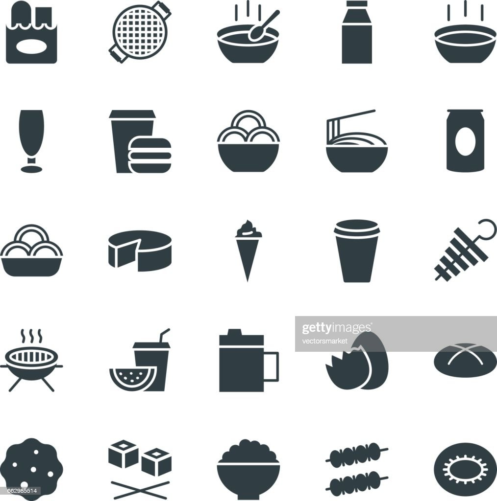 Food Cool Vector Icons 10