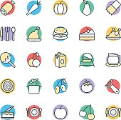 Food Cool Vector Icons 4