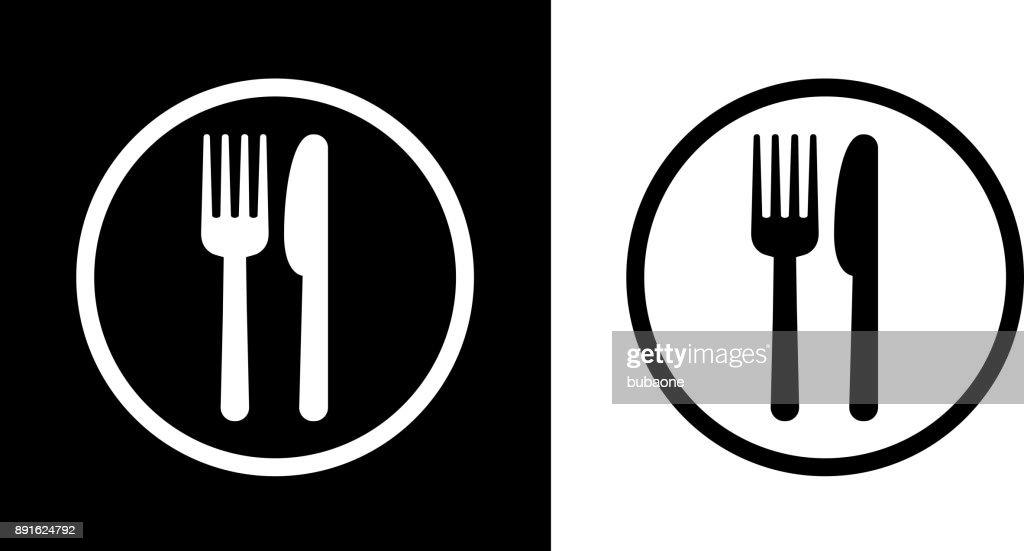 Signe de Cour de nourriture. : Illustration