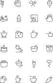 Food Hand Drawn Icons 4