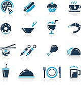 Food Icon Set 2 // Azure Series