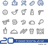 Food Icon Set 2 of 2 - Line Series