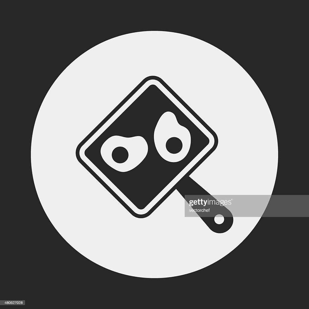 BBQ food icon : Vector Art
