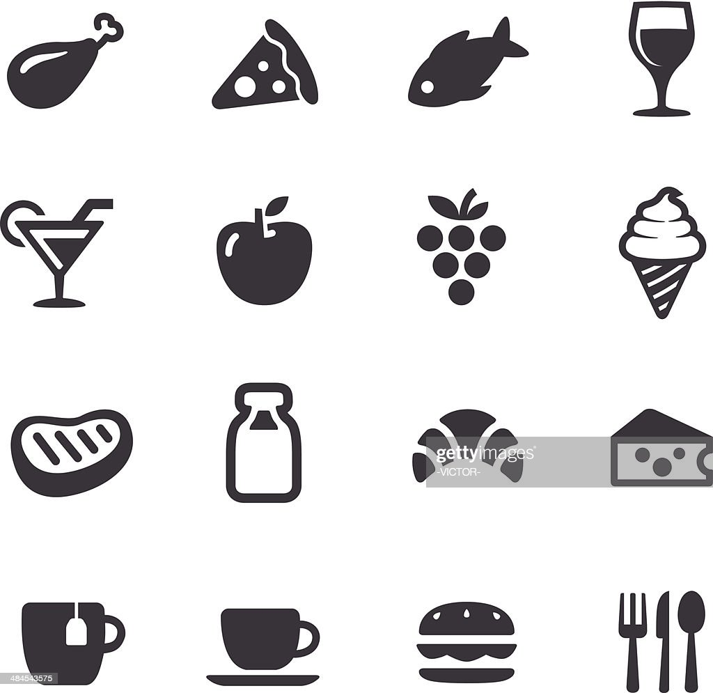 Food Icons - Acme Series : stock illustration