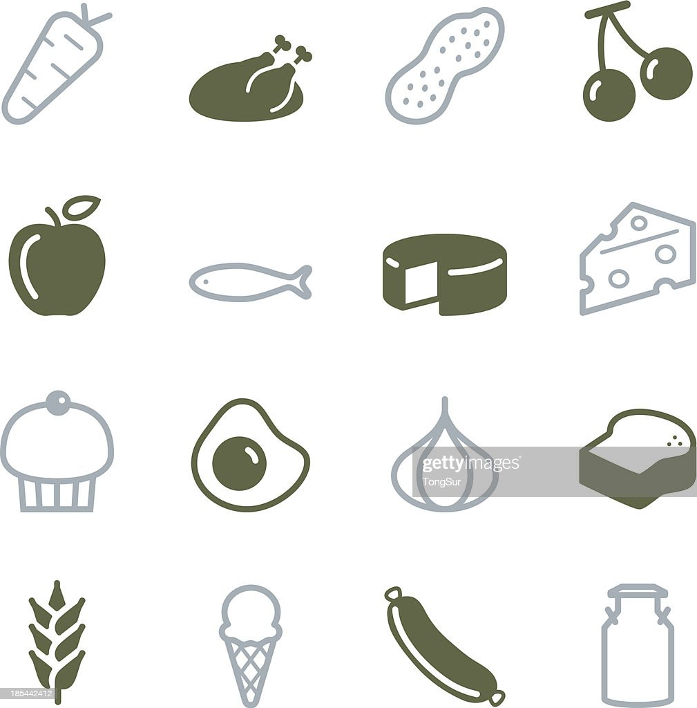 Food Icons - Color Series