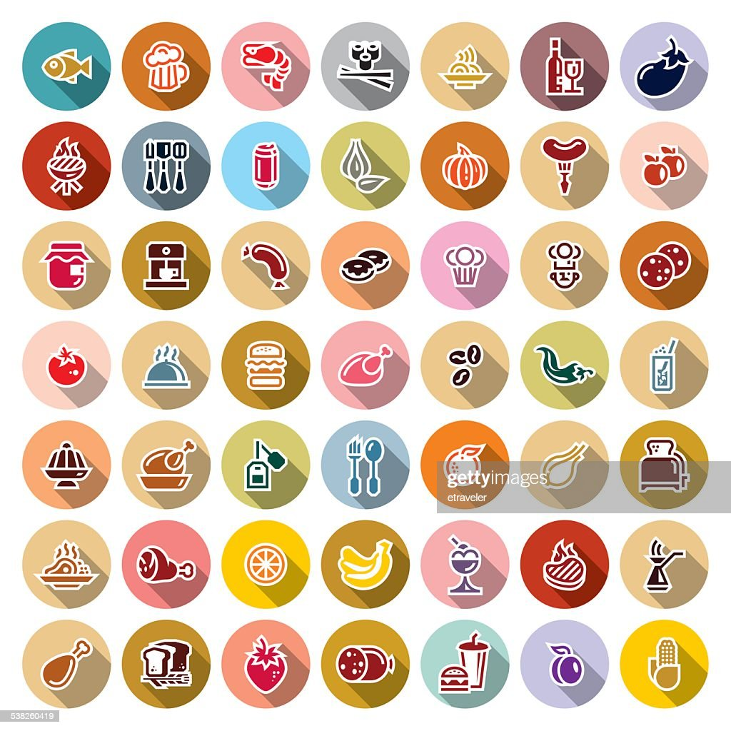 food icons for applications