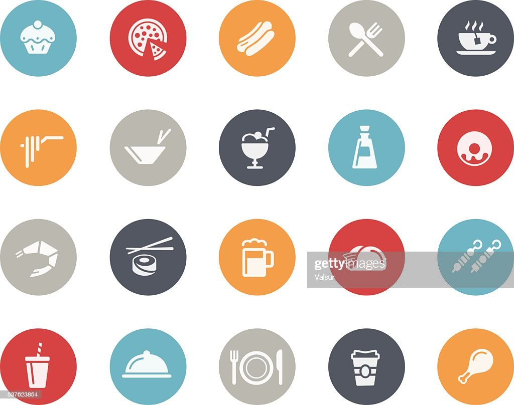 Food Icons Set 2 of 2 // Classics