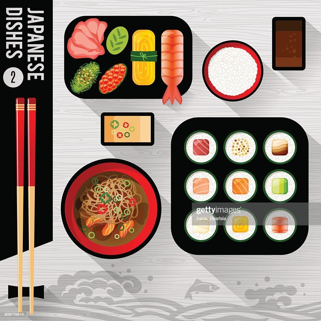 Food Illustration Japanese food