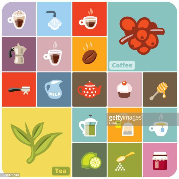 food knolling - sugar food stock illustrations, clip art, cartoons, & icons