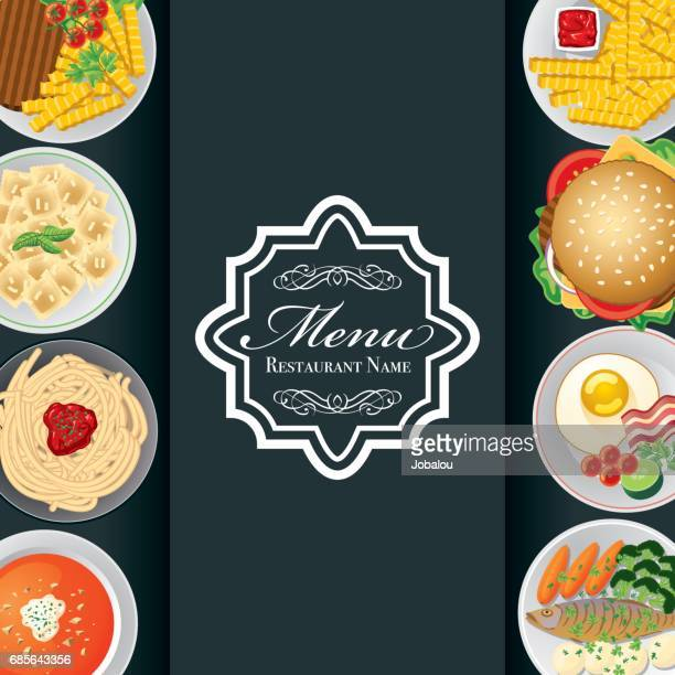 food menu - dipping stock illustrations, clip art, cartoons, & icons