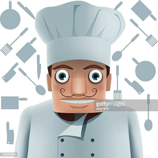 food service occupation - scoop shape stock illustrations, clip art, cartoons, & icons