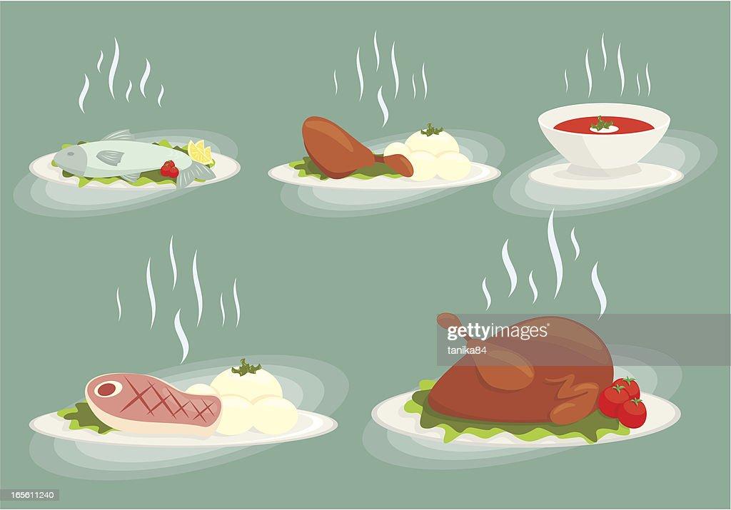 food set vol1 : stock illustration