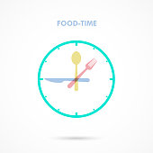 Food Time,Lunch Time icon.Eating time concept.