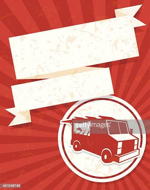 food truck fancy flyer