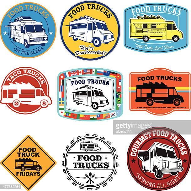 Food Truck Graphic Set