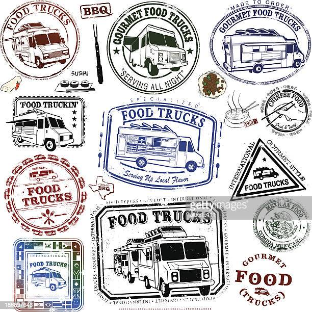 Food Truck Series of Stamps