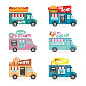 Food truck set