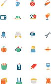 Food Vector Colored Icons 17