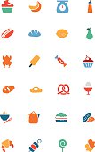 Food Vector Colored Icons 6
