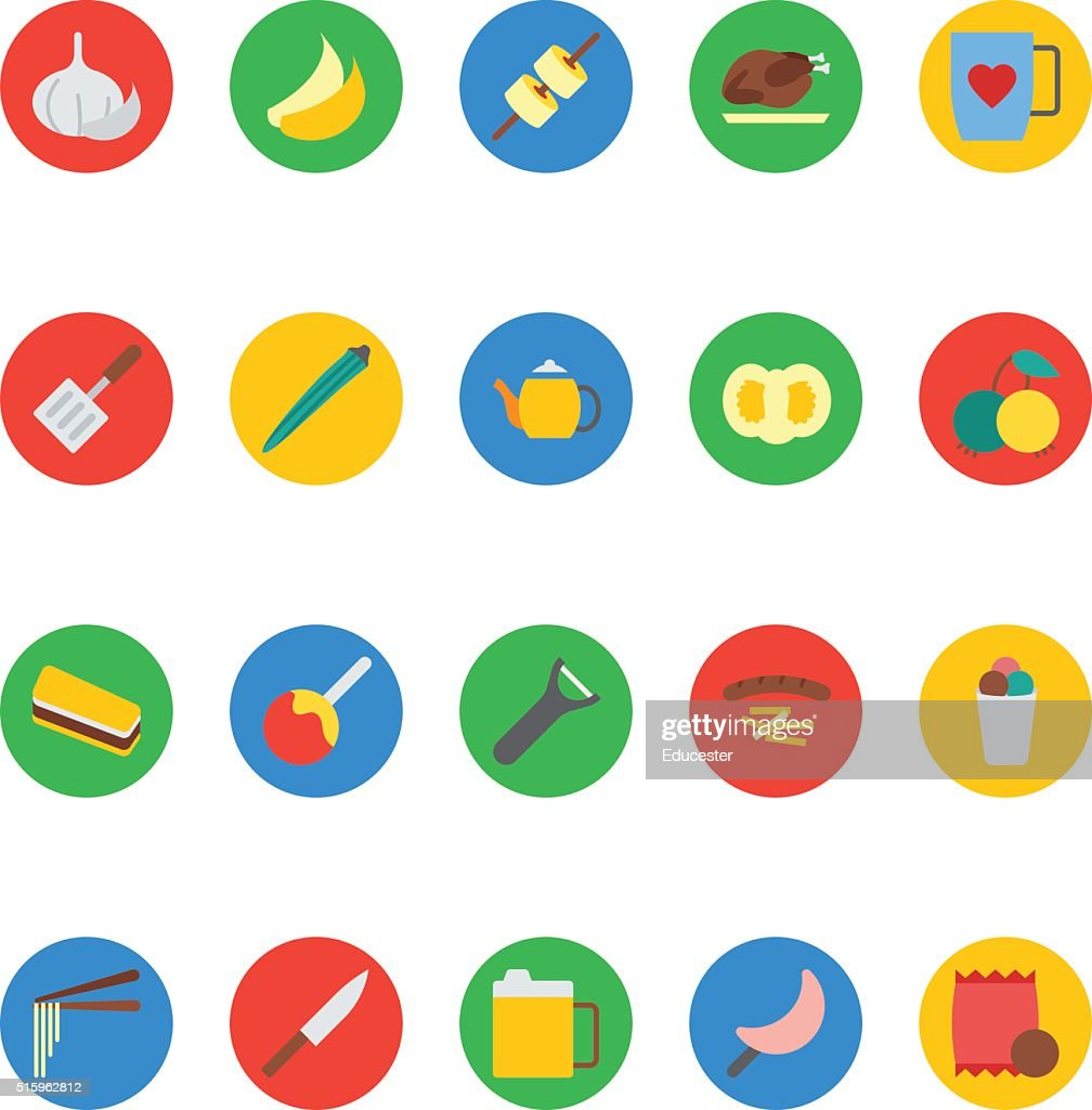 Food Vector Icons 14