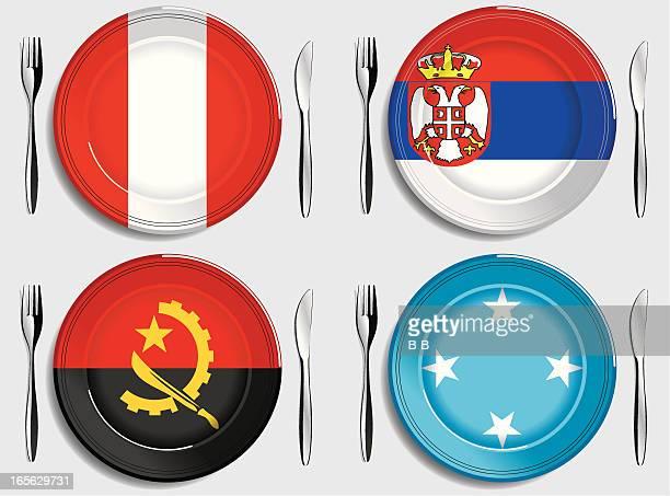 Food-Peru-Serbia-Angola-Micronesia