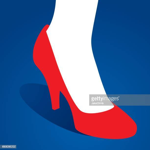 Foot in High Heel Icon