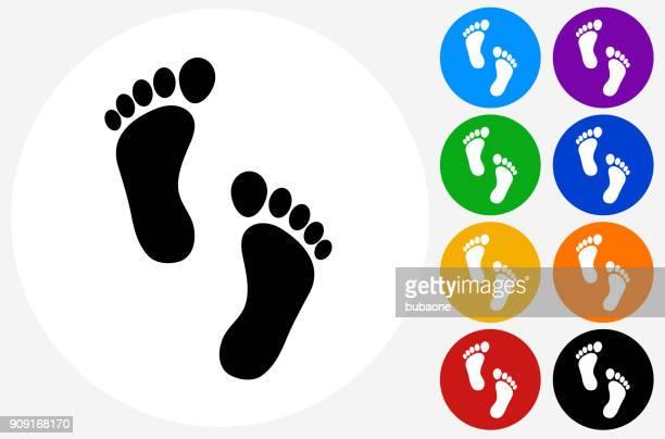 illustrations, cliparts, dessins animés et icônes de empreintes de pied. - empreinte de pas