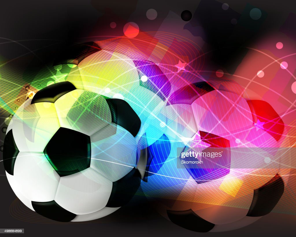 Football abstract background