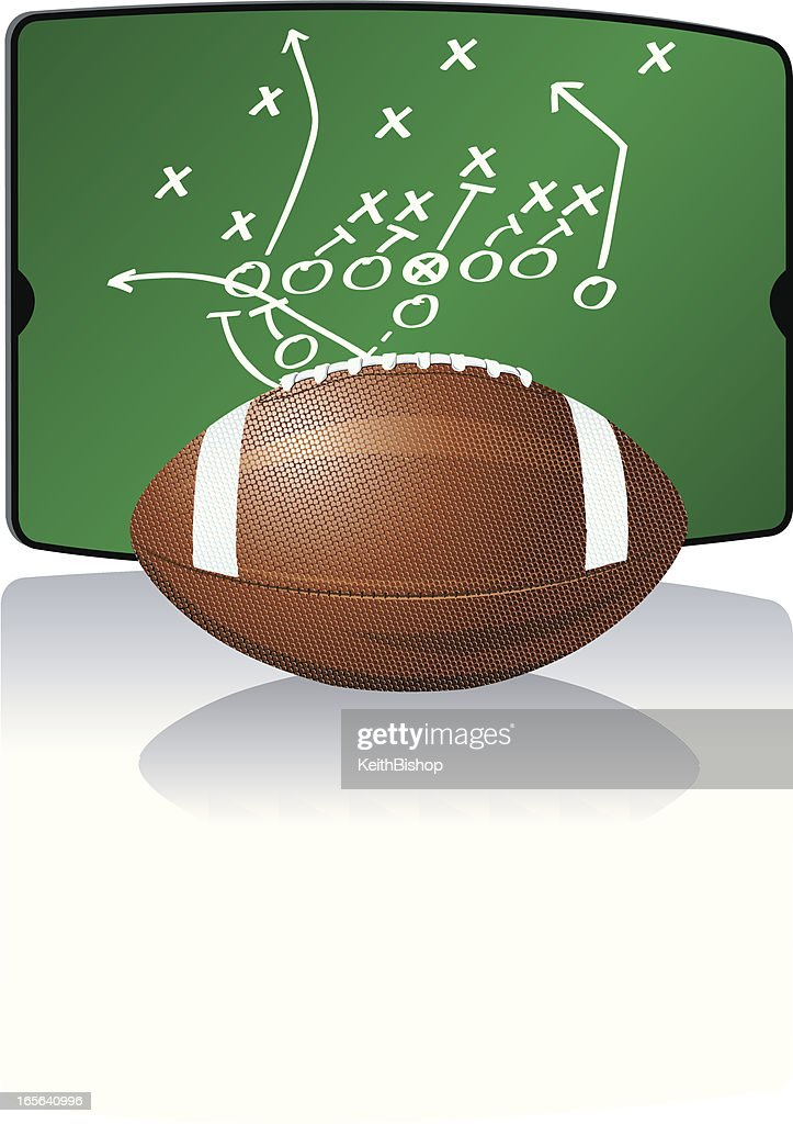 Football and Playboard Diagram