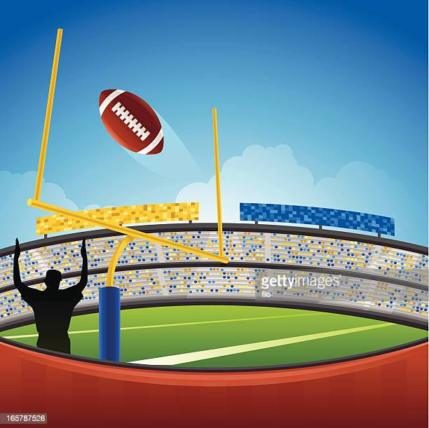 656 American Football Field High Res Illustrations Getty Images