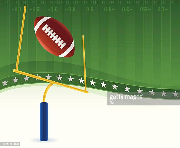 football background - football field stock illustrations, clip art, cartoons, & icons