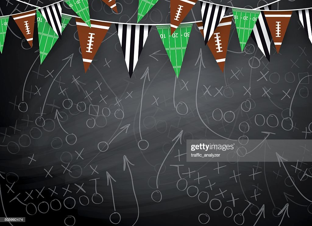 Football background : Stock Illustration