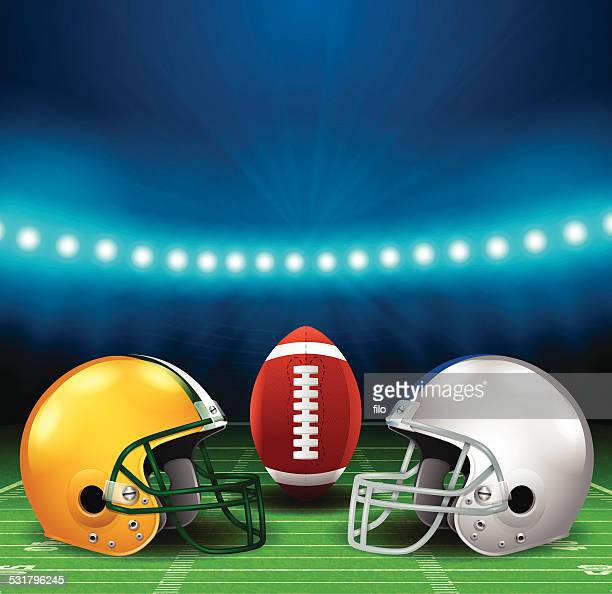 football background - football helmet stock illustrations