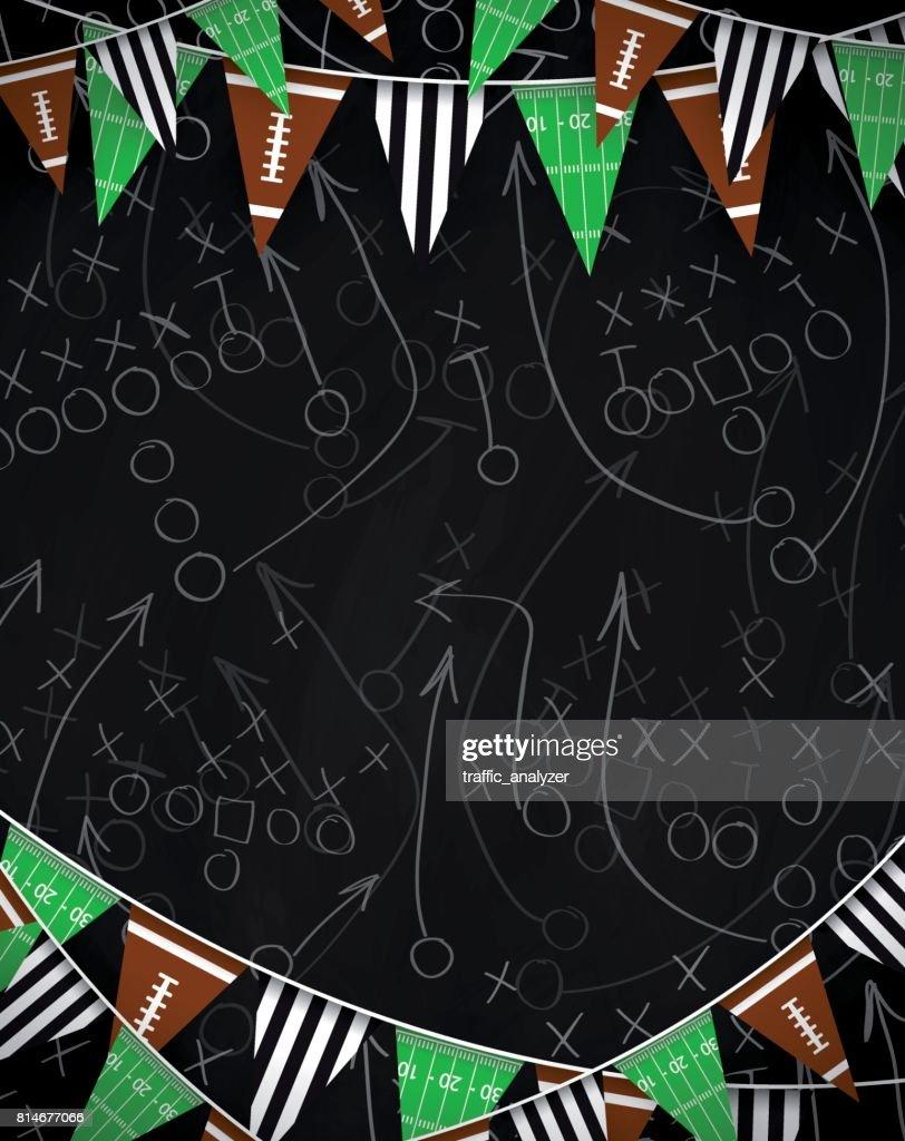 Football background : stock illustration