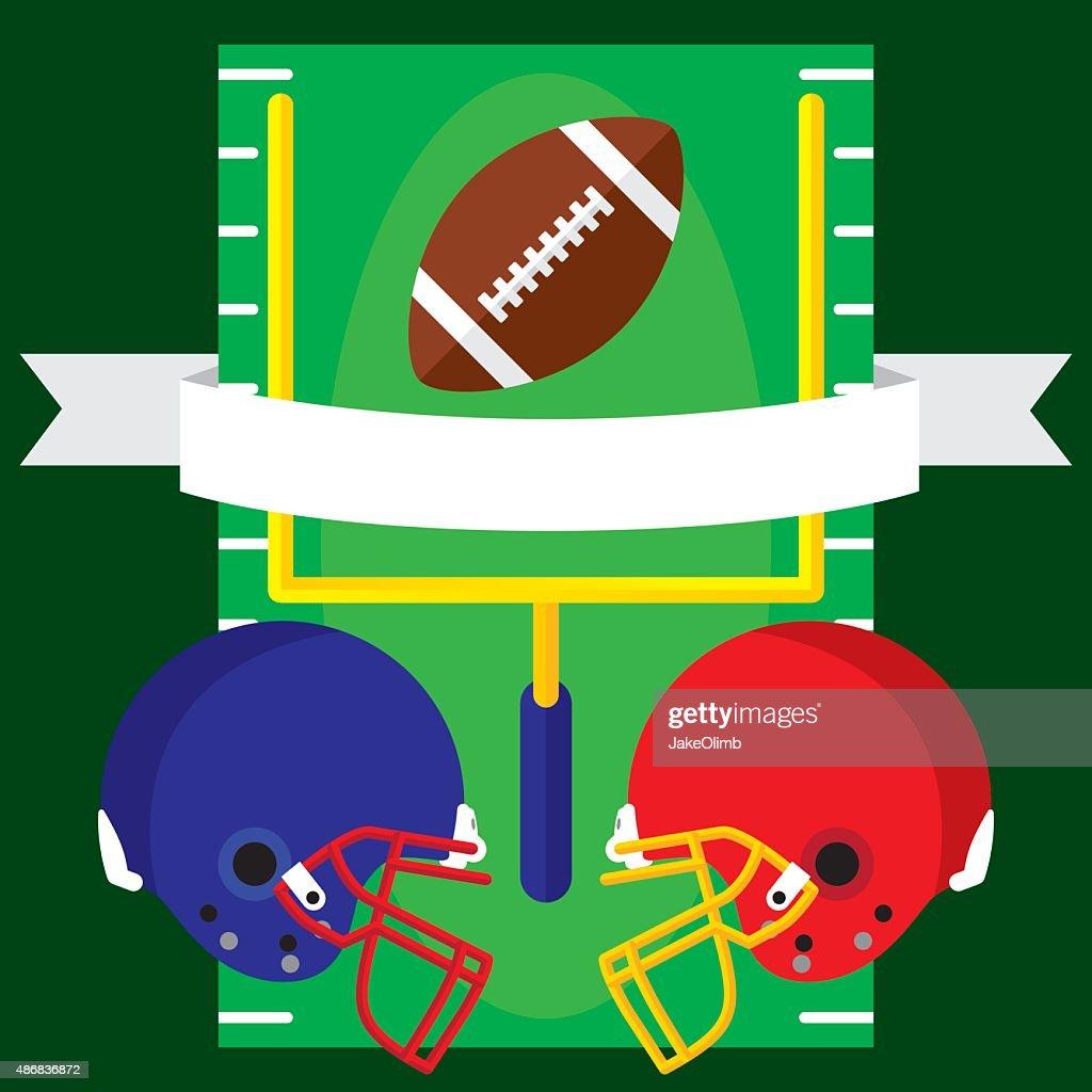 Football Banner Flat