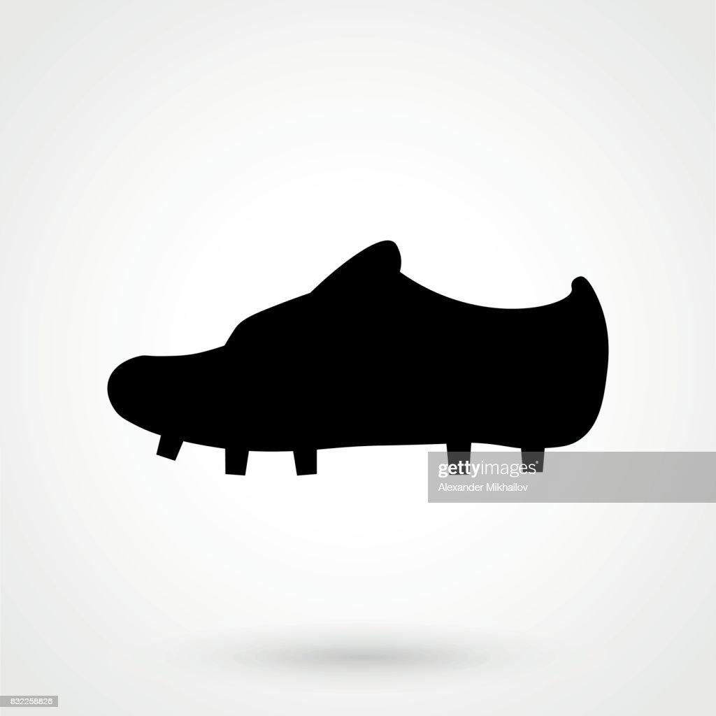 26f15467cb2 Football Boots Icon   stock vector