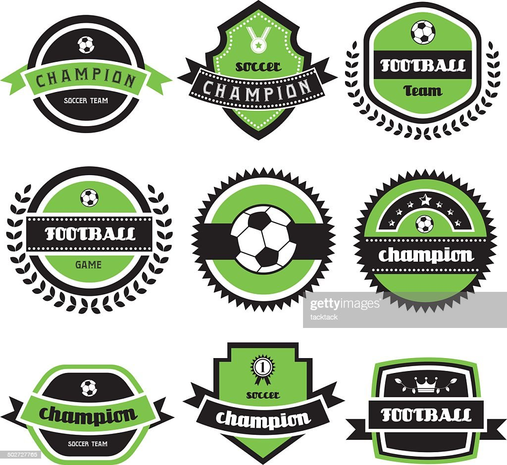 football champion  labels