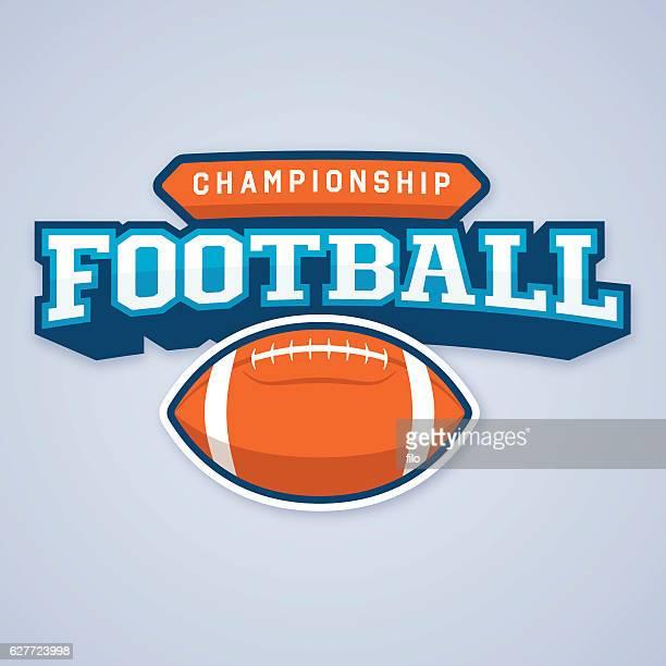 Football Championship Badge Symbol
